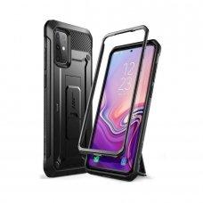 Dvipusis premium apsauginis dėklas Supcase Unicorn Beetle Pro Galaxy S20+ Plus juodas (nqt31)