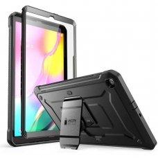Dvipusis Premium Apsauginis Dėklas Supcase Unicorn Beetle Pro Galaxy Tab A 10.1 2019 T510/T515 Juodas