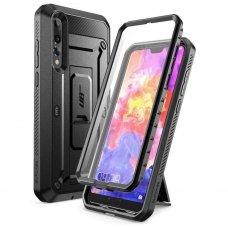 """Visapusis Apsauginis Smūgiams Atsparus Dėklas """"Supcase Unicorn Beetle Pro"""" Huawei P20 Pro Juodas"""