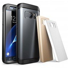 """Visapusis Apsauginis Smūgiams Ir Vandeniui Atsparus Dėklas """"Supcase Unicorn Hybrid"""" Galaxy S7"""