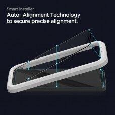 Apsauginis stikliukas Spigen Alm Glass Fc 2-Pack Iphone 12 Pro / Iphone 12 Juodas