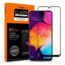 Aukštos Kokybė Apsauginis Stiklas Spigen Fc Galaxy A40 Juodas