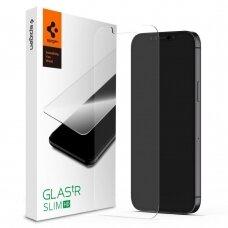 Aukštos Kokybės Apsauginis Stiklas Spigen Glass.Tr Slim Iphone 12 Pro Max