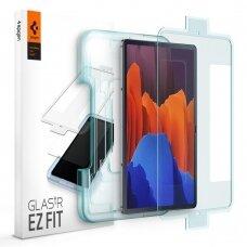 "Apsauginis stikliukas SPIGEN GLAS.TR ""EZ FIT"" GALAXY TAB S7+ PLUS 12.4 T970/T976"