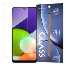Ekrano Apsauginis Stiklas Tempered Glass 9H Samsung Galaxy A22 4G (pakuotė - vokas)