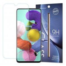 APSAUGINIS STIKLAS 9h  IKI IŠLENKIMO Samsung Galaxy A51 (packaging – envelope) (ctz006)