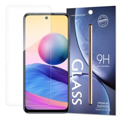 Apsauginis stiklas Tempered Glass 9H Screen Protector for Xiaomi Redmi Note 10 5G / Poco M3 Pro