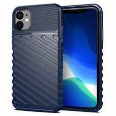 "Tpu Dėklas Nugarėlė ""Thunder Case Flexible Tough Rugged"" Iphone 11 Mėlynas"