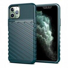 """TPU Dėklas nugarėlė """"Thunder Case Flexible Tough Rugged"""" iPhone 11 Pro žalias (zuk98)"""
