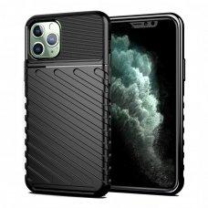 """Tpu Dėklas Nugarėlė """"Thunder Case Flexible Tough Rugged"""" Iphone 11 Pro Max Juodas"""
