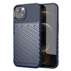 Thunder Case Flexible Tough Rugged Cover TPU dėklas iPhone 13 mini mėlynas