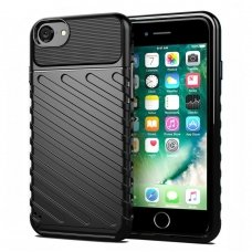 "Tpu Dėklas Nugarėlė ""Thunder Case Flexible Tough Rugged"" Iphone 7/ Iphone 8/ Iphone Se 2020 Juodas"