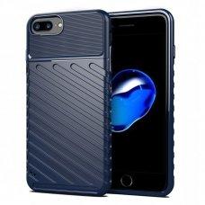 "TPU Dėklas nugarėlė ""Thunder Case Flexible Tough Rugged"" iPhone 8 Plus / iPhone 7 Plus mėlynas (gcl74) UCS063"