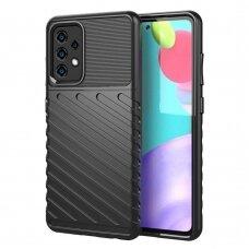 Dėklas Thunder Case Flexible  TPU Samsung Galaxy A52/ A52s Juodas