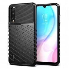 "Tpu Dėklas Nugarėlė ""Thunder Case Flexible Tough Rugged"" Xiaomi Mi Cc9E / Xiaomi Mi A3 Juodas"