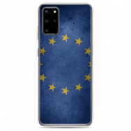 """TPU DĖKLAS UNIKALIU DIZAINU 1.0 MM """"U-CASE AIRSKIN EU DESIGN"""" SAMSUNG GALAXY S20 TELEFONUI"""