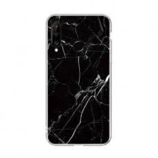 Wozinsky Marble Tpu Dėklas Huawei P30 Lite Juodas