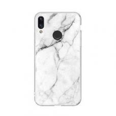 Wozinsky Marble Tpu Dėklas Xiaomi Redmi Note 7 Baltas