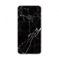 Wozinsky Marble Tpu Dėklas Xiaomi Redmi Note 7 Juodas