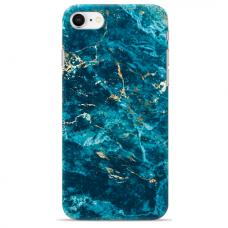 "Tpu Dėklas Unikaliu Dizainu 1.0 Mm ""U-Case Airskin Marble 2 Design"" Iphone 6 / Iphone 6S Telefonui"