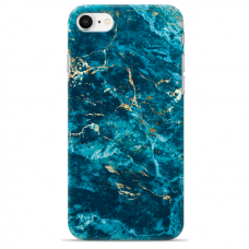 "Tpu Dėklas Unikaliu Dizainu 1.0 Mm ""U-Case Airskin Marble 2 Design"" Iphone 7 / Iphone 8 / Iphone Se 2020 Telefonui"