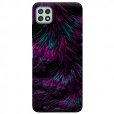 "TPU dėklas unikaliu dizainu 1.0 mm ""u-case Airskin Feather design"" Samsung Galaxy A22 5G telefonui"