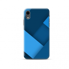 """TPU dėklas unikaliu dizainu 1.0 mm """"u-case Airskin Blue design"""" Iphone Xr telefonui"""