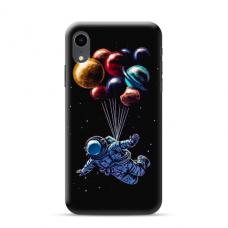 """TPU dėklas unikaliu dizainu 1.0 mm """"u-case Airskin Cosmo design"""" Iphone Xr telefonui"""