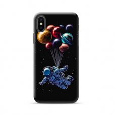 """TPU dėklas unikaliu dizainu 1.0 mm """"u-case Airskin Cosmo design"""" Iphone 11 XS Max telefonui"""