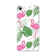 "TPU dėklas unikaliu dizainu 1.0 mm ""u-case Airskin Flamingos design"" Iphone 7 / 8 / SE 2020 telefonui"