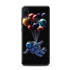 """TPU dėklas unikaliu dizainu 1.0 mm """"u-case Airskin Cosmo design"""" Samsung Galaxy A40 telefonui"""