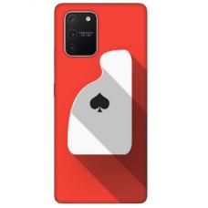 "Tpu Dėklas Unikaliu Dizainu 1.0 Mm ""U-Case Airskin Ace Design"" Samsung Galaxy S10 Lite Telefonui"