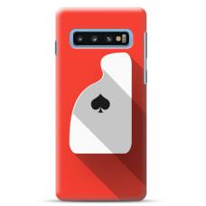 "Tpu Dėklas Unikaliu Dizainu 1.0 Mm ""U-Case Airskin Ace Design"" Samsung Galaxy S10 Telefonui"