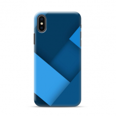 """TPU dėklas unikaliu dizainu 1.0 mm """"u-case Airskin Blue design"""" Iphone 11 X / XS telefonui"""