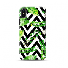 """TPU dėklas unikaliu dizainu 1.0 mm """"u-case Airskin Leaves 2 design"""" Iphone 11 XS Max telefonui"""