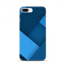 """TPU dėklas unikaliu dizainu 1.0 mm """"u-case Airskin Blue design"""" Iphone 7 Plus / 8 Plus telefonui"""