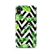 "Tpu Dėklas Unikaliu Dizainu 1.0 Mm ""U-Case Airskin Lesves 2 Design"" Iphone Xs Max Telefonui"