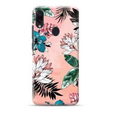 "TPU dėklas unikaliu dizainu 1.0 mm ""u-case Airskin Flowers 1 design"" Samsung Galaxy A40 telefonui"