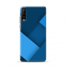 """TPU dėklas unikaliu dizainu 1.0 mm """"u-case Airskin Blue design"""" Samsung Galaxy A50 telefonui"""