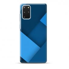 "TPU dėklas unikaliu dizainu 1.0 mm ""u-case Airskin Blue design"" Samsung Galaxy S20 Plus telefonui"