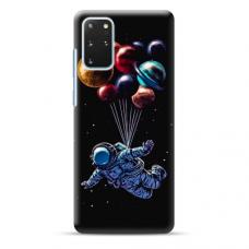 "TPU dėklas unikaliu dizainu 1.0 mm ""u-case Airskin Cosmo design"" Samsung Galaxy S20 Plus telefonui"