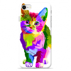 "Tpu Dėklas Unikaliu Dizainu 1.0 Mm ""U-Case Airskin Kitty Design"" Iphone 7 / Iphone 8 / Iphone Se 2020 Telefonui"
