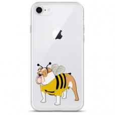 "Tpu Dėklas Unikaliu Dizainu 1.0 Mm ""U-Case Airskin Doggo 1 Design"" Iphone 6 / Iphone 6S Telefonui"