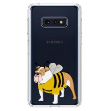 "Tpu Dėklas Unikaliu Dizainu 1.0 Mm ""U-Case Airskin Doggo 1 Design"" Samsung Galaxy S10E Telefonui"