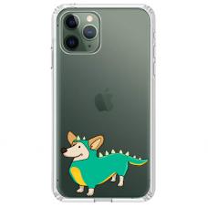 "Tpu Dėklas Unikaliu Dizainu 1.0 Mm ""U-Case Airskin Doggo 4 Design"" Iphone 11 Pro Telefonui"