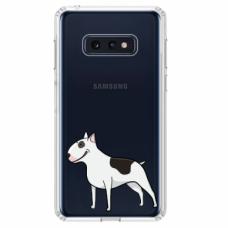 "Tpu Dėklas Unikaliu Dizainu 1.0 Mm ""U-Case Airskin Doggo 3 Design"" Samsung Galaxy S10E Telefonui"