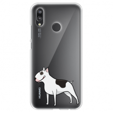 "Tpu Dėklas Unikaliu Dizainu 1.0 Mm ""U-Case Airskin Doggo 3 Design"" Huawei P Smart Z Telefonui"