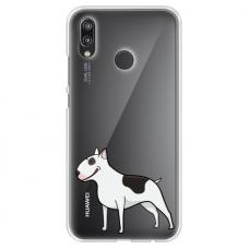 "Tpu Dėklas Unikaliu Dizainu 1.0 Mm ""U-Case Airskin Doggo 3 Design"" Huawei P20 Lite Telefonui"
