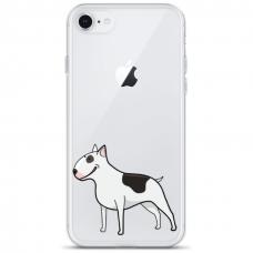 "Tpu Dėklas Unikaliu Dizainu 1.0 Mm ""U-Case Airskin Doggo 3 Design"" Iphone 6 / Iphone 6S Telefonui"