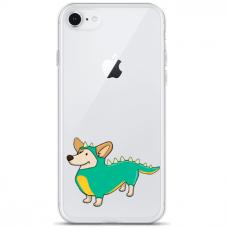 "Tpu Dėklas Unikaliu Dizainu 1.0 Mm ""U-Case Airskin Doggo 4 Design"" Iphone 6 / Iphone 6S Telefonui"
